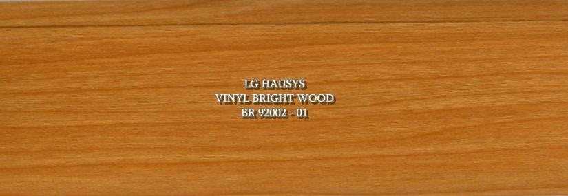 LG Hausys Vinyl Bright Wood - BR 92002 - 01