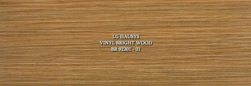 LG Hausys Vinyl Bright Wood - BR 92201 - 01