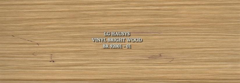 LG Hausys Vinyl Bright wood - BR 92001 - 01