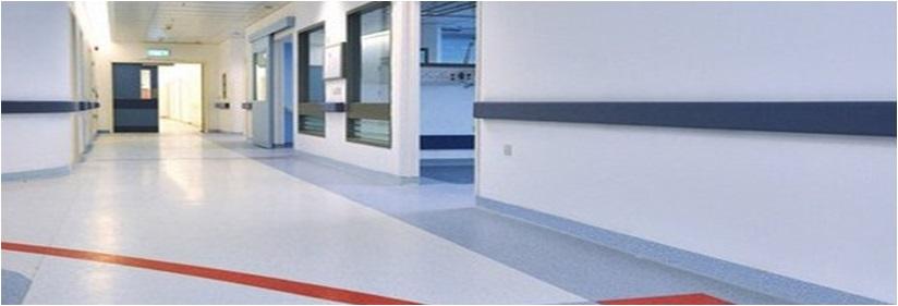 Vinyl Dinding Rumah Sakit