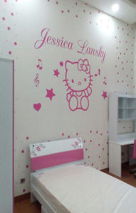 Wallpaper Gambar Hellokitty